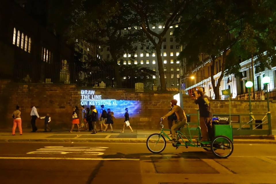 The Illuminator Green Lumen Bicycle